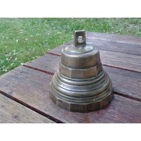 """Старинный колокол """"С серебромъ"""". Для интерьера или коллекции."""