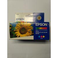 Картридж струйный Epson T018 оригинал просрочка