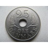 Дания 25 эре 1967 г.