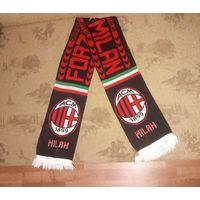 Футбольный шарф AC Milan