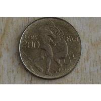 Сан-Марино 200 лир 1979 ФАО