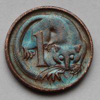 1 цент 1973, Австралия