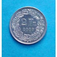 Швейцария, 2 франка  2007