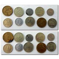 Набор монет - лот 40 / цена за все/