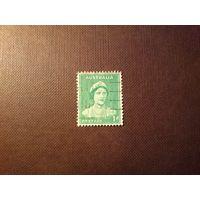 Австралия 1937 г.Елизавета -II.