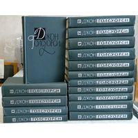 Джон Голсуорси. Собрание сочинений в 16 томах (комплект из 16 книг). Антикварное издание, 1962г. указана стоимость 1 тома.