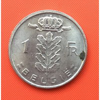 Бельгия, 1 франк 1978 г. Фламандский тип. Распродажа!