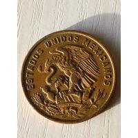 Мексика 20 сентаво 1969г.