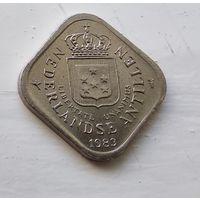 Нидерландские Антильские острова 5 центов, 1983 1-2-3