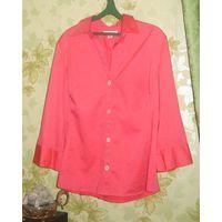 Рубашка розовая Banana republic р.48-50