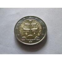 2 евро, Словакия 2015 г., AU