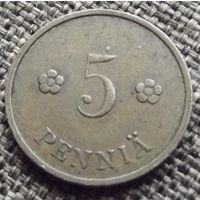Финляндия. 5 пенни 1934