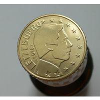 50 евроцентов 2018 Люксембург UNC из ролла