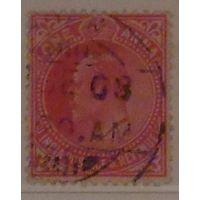 Король Эдуард VII. Индия. Колония. Дата выпуска: 1906-12-16