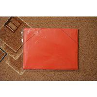 Папка пластиковая на резинках А4, красная