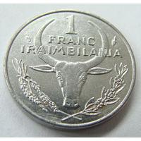 Мадагаскар 1 франк 1993 г