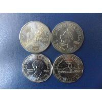 Боливия 4 монеты 2017 г. одним лотом