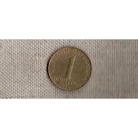 Австрия 1 шиллинг 1980/(En)
