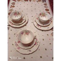 Акция!!! 20% скидки на все лоты !!! Коллекционное чайно-кофейное трио от Краутхайм, Германия