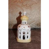 Фарфоровая статуэтка, Мечеть, 16.5 см, без дефектов.