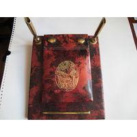 Сафьяновый письменный прибор (Египет)