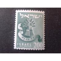 Израиль 1956 стандарт колосья