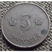 Финляндия. 5 пенни 1920