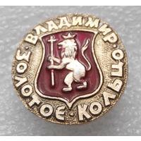 Значок. Золотое кольцо. Владимир #0622