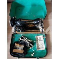 Швейная машинка Подольск с электроприводом 1989 год (НОВАЯ)