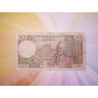 Франция 10 франков 1973г