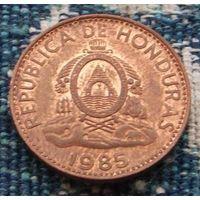 Гондурас 1 центаво 1985 года. Инвестируй в монеты планеты!