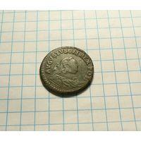 1 грош 1754 Gubin Н