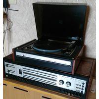 Стереосистема радиола элегия 102 СССР 1+1 все работает