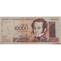 Венесуэла 10000 Боливар 2000 , XF-, 697