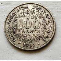 Западная Африка (BCEAO) 100 франков, 1969 3-1-30