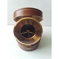 """Часы -будильник-шкатулка """"black forest"""" .редкость ,Германия 50е годы"""