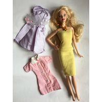 Одежда для куколы Барби Barbie платья набор 3 шт