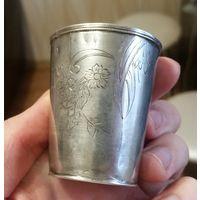 Старая серебряная рюмка, с рубля!