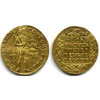 Дукат 1778, Голландия, Золото. Красивое коллекционное состояние!