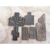 Крест , иконка и створки.