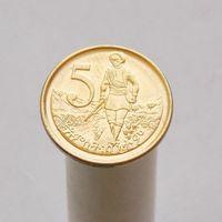 Эфиопия 5 сантимов 2008