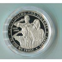 1 доллар.2010г