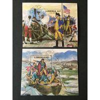 Президенты США. Либерия,1981-1982, 4 блока
