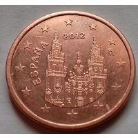 5 евроцентов, Испания 2012 г., AU