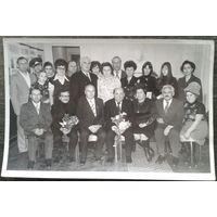 Фото на творческой встрече с народным артистом СССР Евгением Леоновым. Капустин Яр. 1977 г