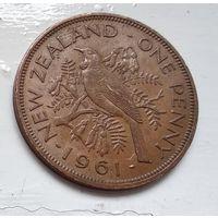 Новая Зеландия 1 пенни, 1961 4-13-8