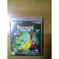 Диск на PS3 Rayman legends