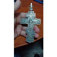 Крест священника, нательный, 19 век. Российская империя. 84