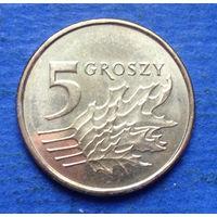 Польша 5 грошей 2019