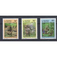 [851] Новая Каледония 1998.Культура Океании.Идолы.